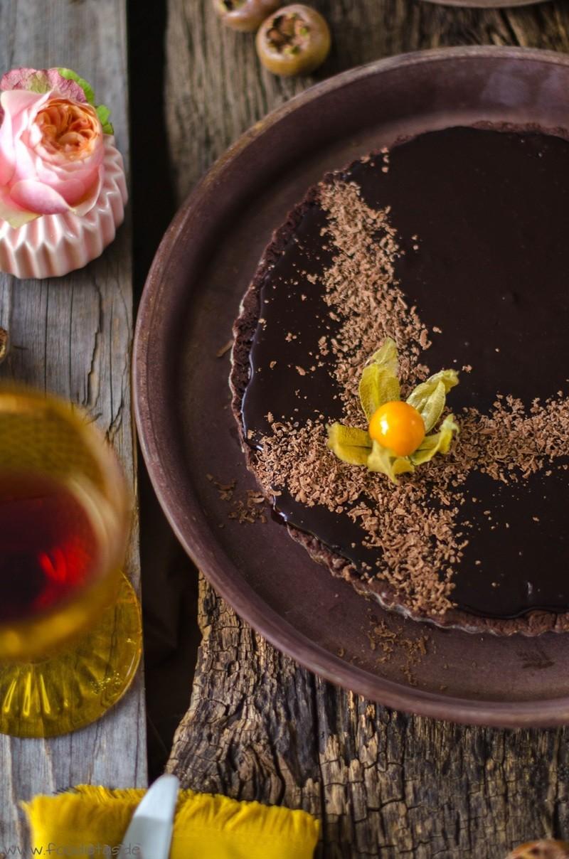 Rezept Schokoladen Kürbis Tarte