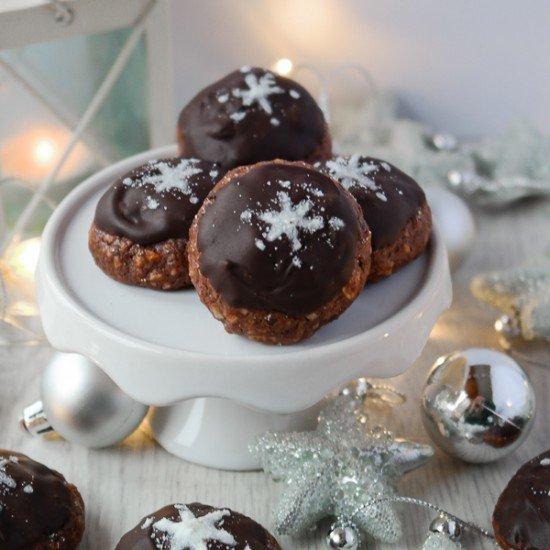 Rezept Schokoladen-Marzipan-Plätzchen