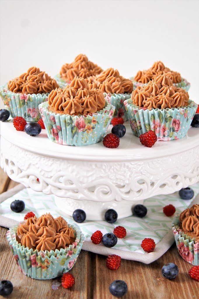 Rezept Schokoladen Mousse Cupcakes