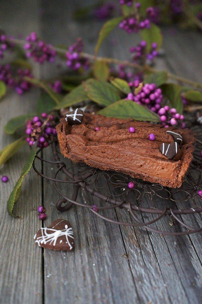 Rezept Schokoladen-Nougat-Tarte