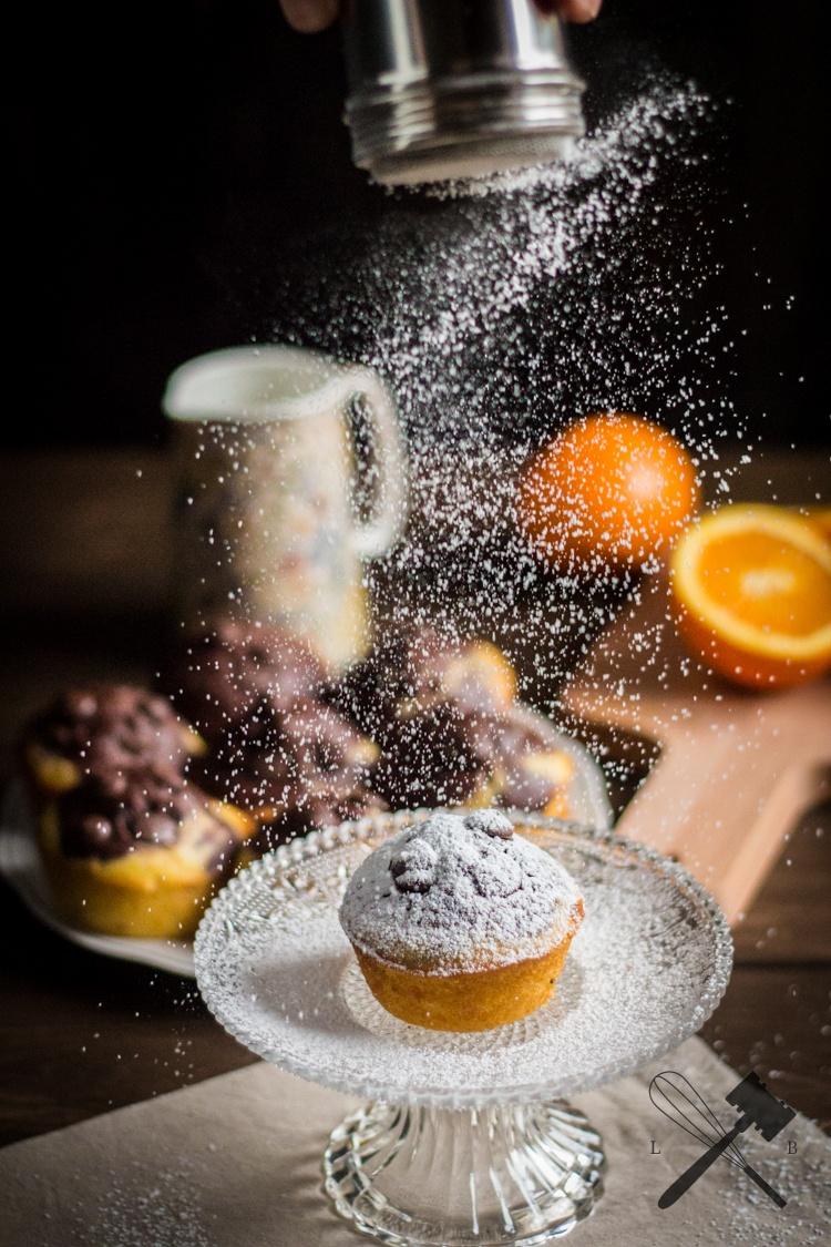 Rezept Schokoladen Orangen Muffins
