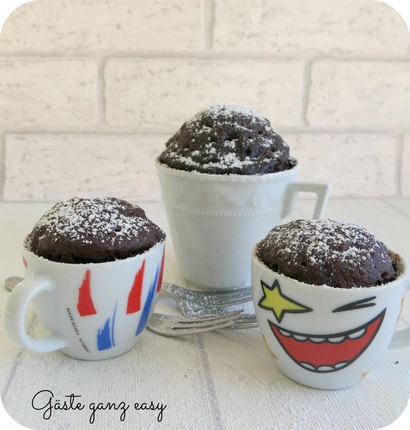 Rezept Schokoladen-Tassenkuchen