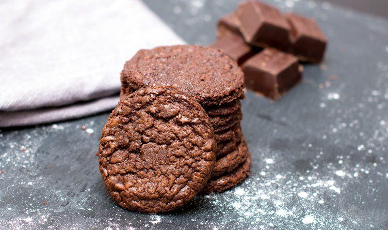 Rezept Schokoladenkekse – pure Schokolade