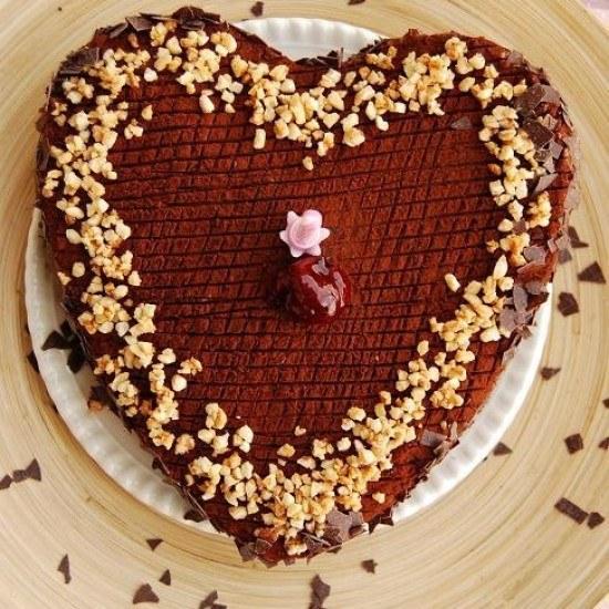 Rezept Schokoladentorte mit Kirschmarmelade