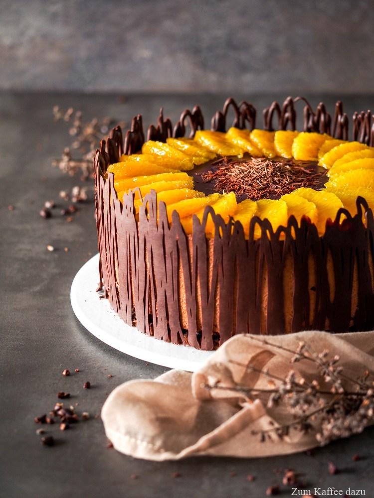 Rezept Schokoladentorte mit Orange und Rotwein