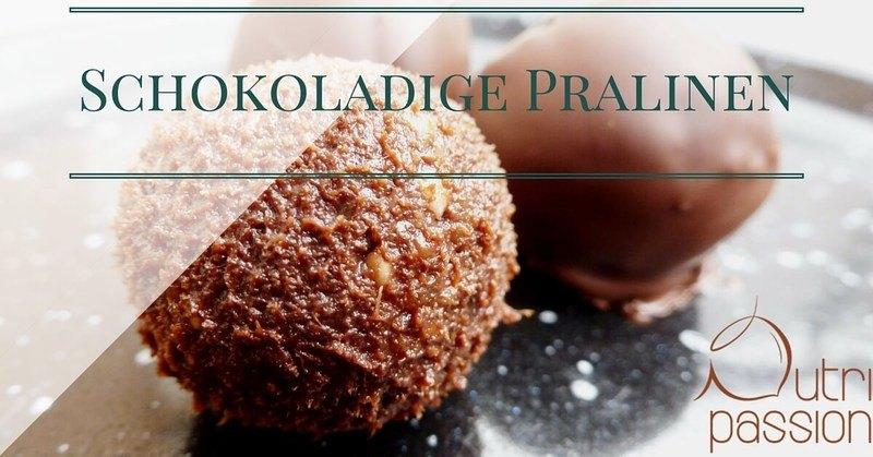 Rezept Schokoladige Pralinen