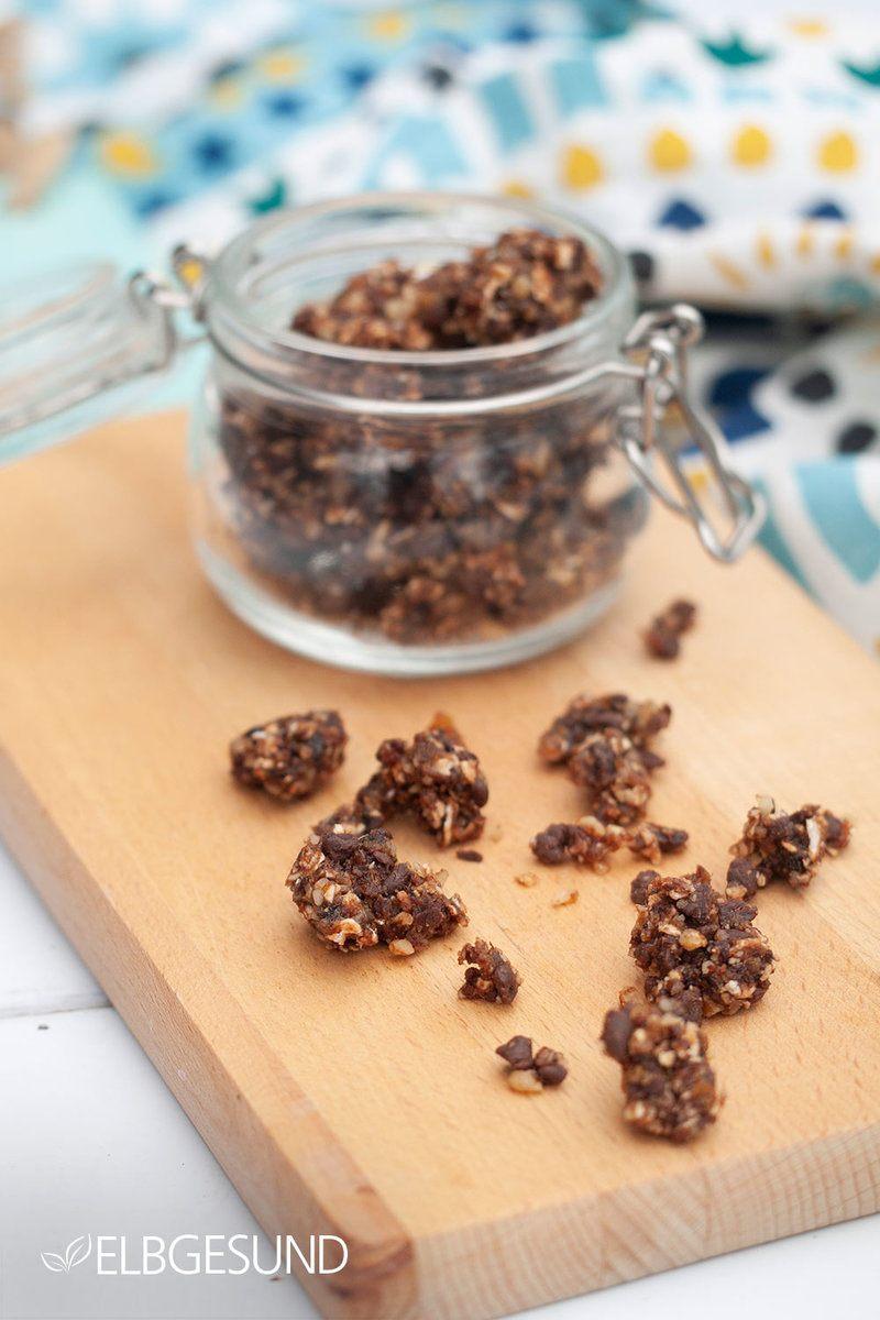 Rezept Schokoladiges Rawnola – gesunder Snack oder starkes Frühstück