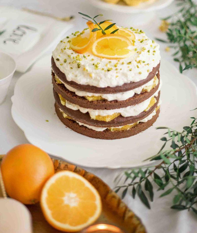 Rezept Schokotorte mit Orangen-Sahne-Füllung