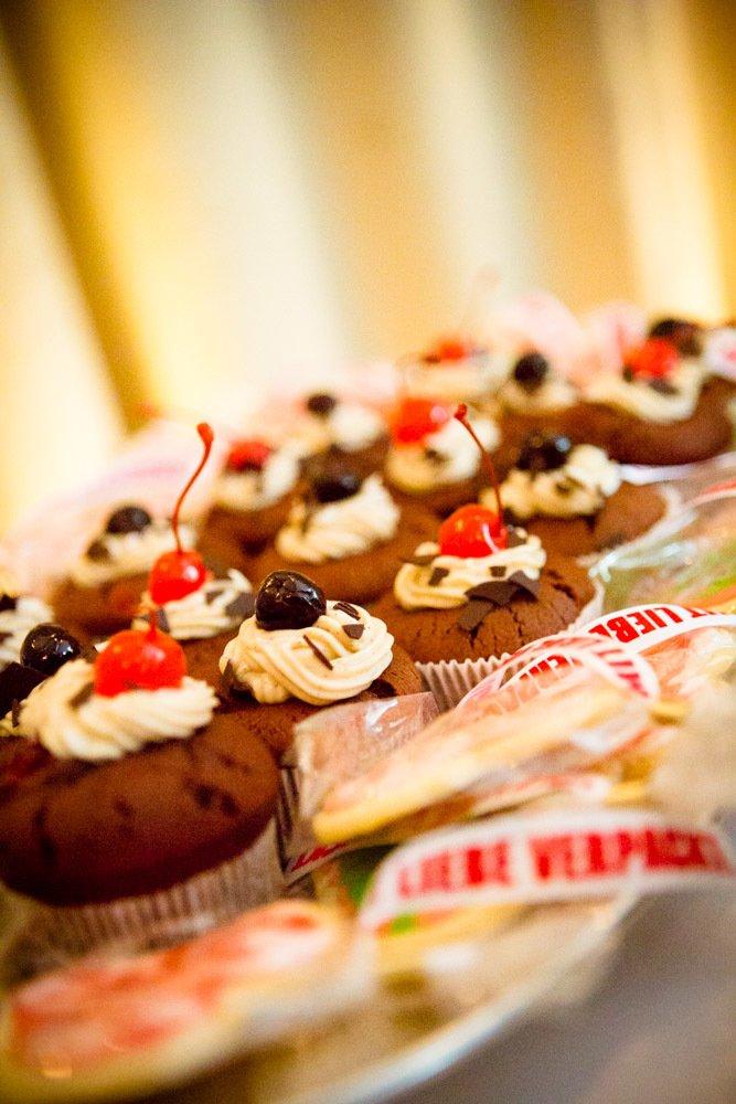 Rezept Schwarzwälder Kirsch Cupcakes