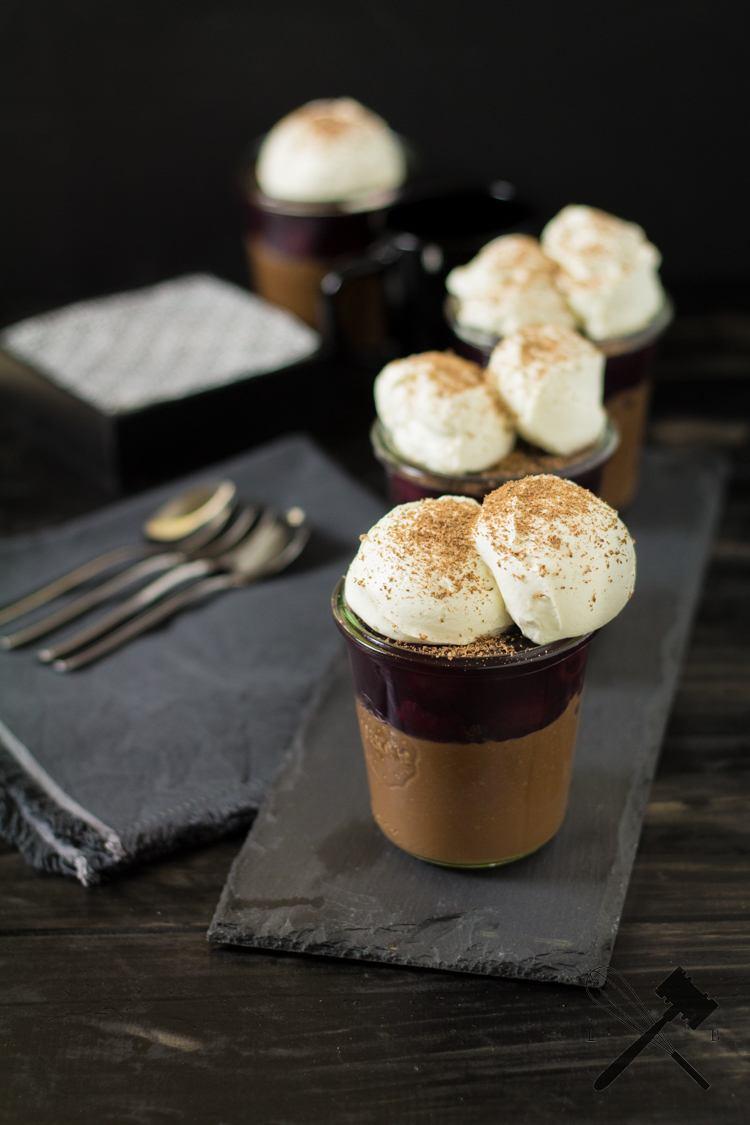 Rezept Schwarzwälder Kirsch Pots de Crème