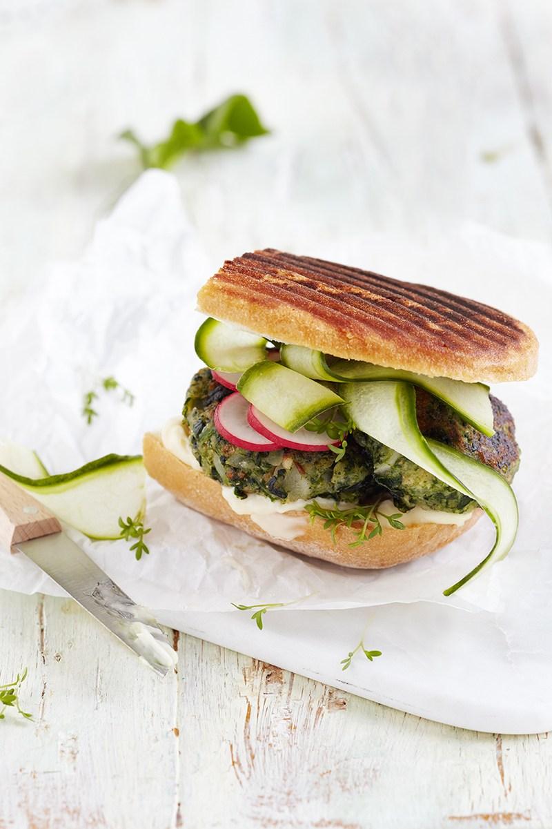 Rezept Schwarzwurzel Spinat Burger