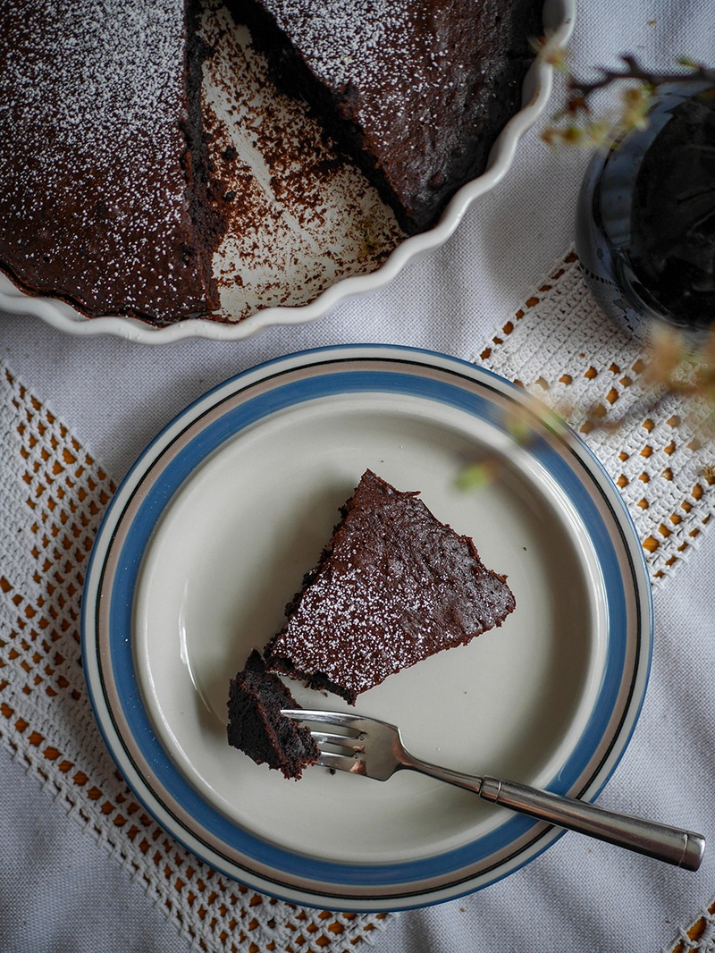 Rezept Schwedischer Schokoladenkuchen (Kladdkaka)