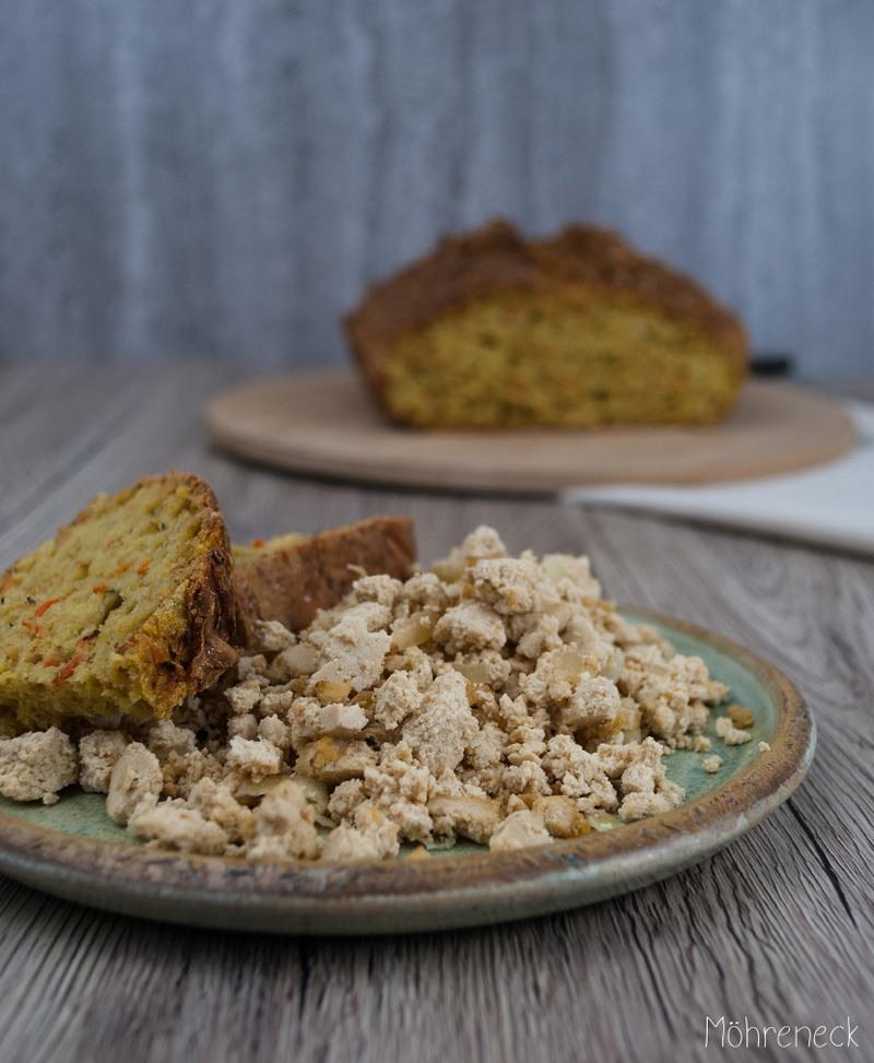 Rezept  Scrambled Tofu | veganes Rührei