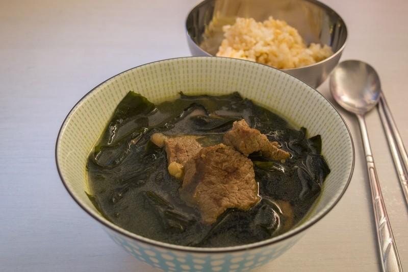 Rezept Seealgen Suppe