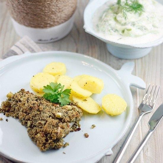Rezept Seelachs Bordelaise mit Gurkensalat à la Tim Mälzer