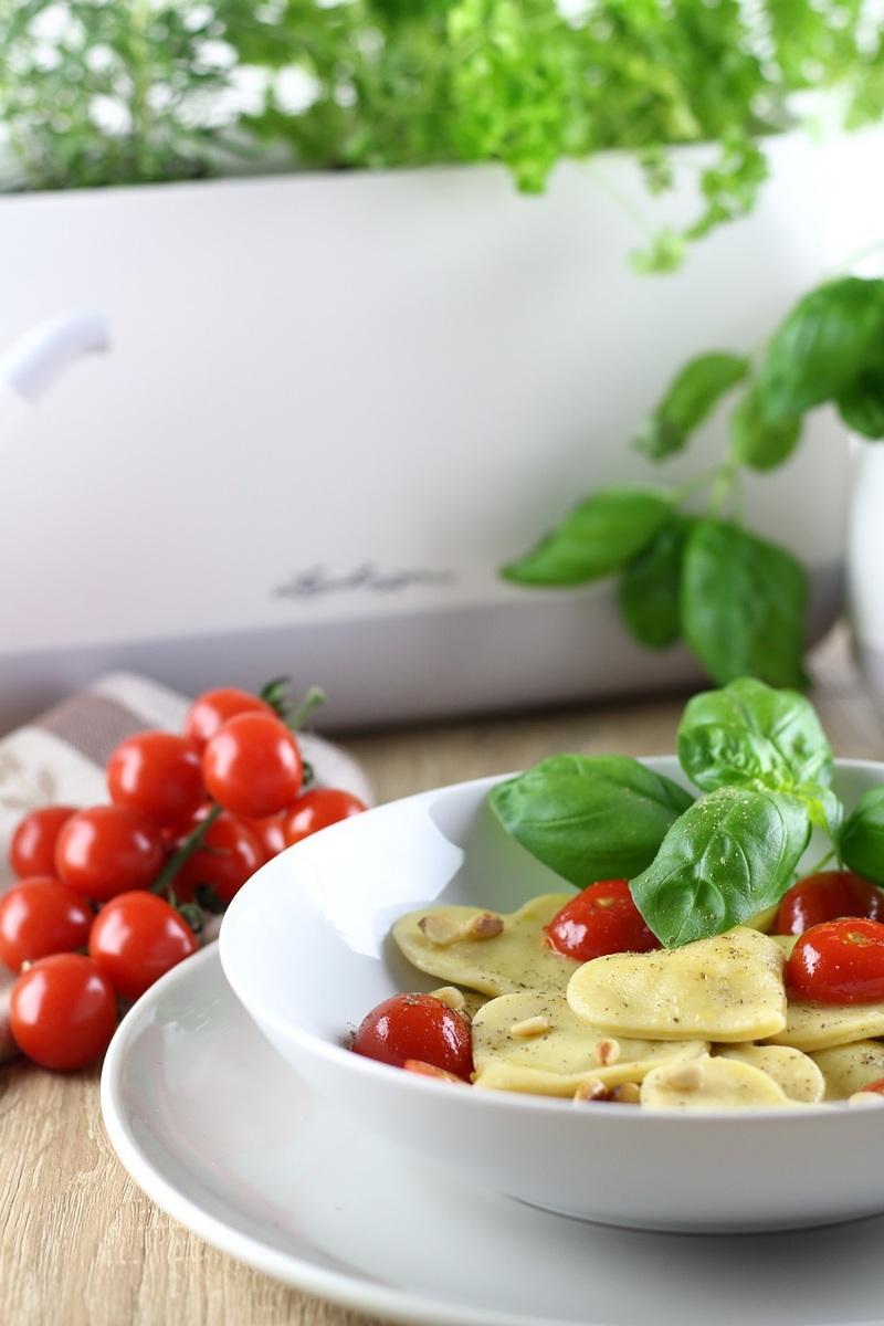 Rezept Selbstgemachte Herz-Ravioli zum Valentinstag