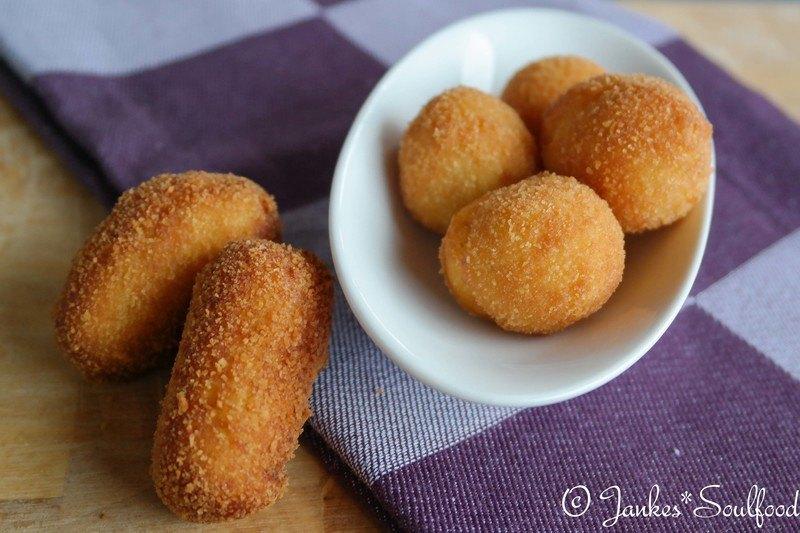 Rezept Selbstgemachte Kartoffel-Kroketten