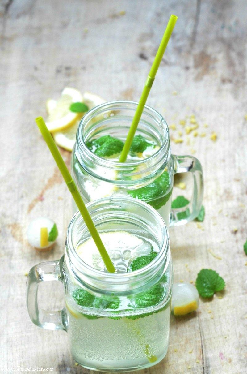 Rezept Selbstgemachte Zitronenlimonade