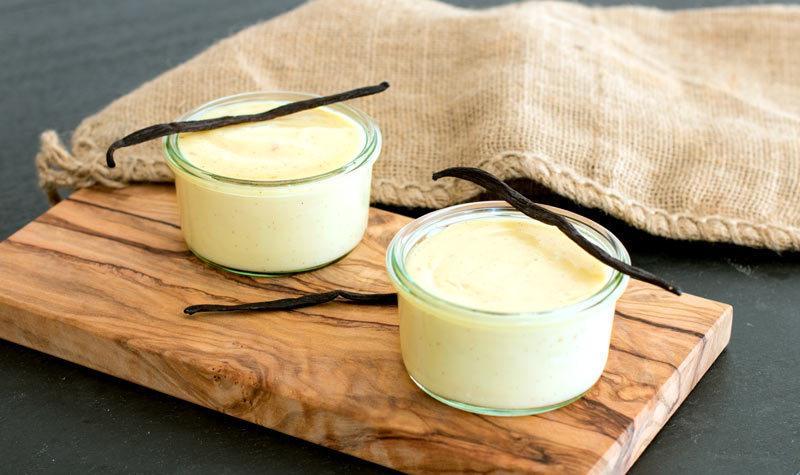 Rezept Selbstgemachter Vanillepudding