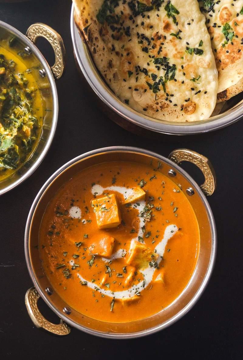Rezept Shahi Paneer - indischer Käse in cremiger Tomatensauce