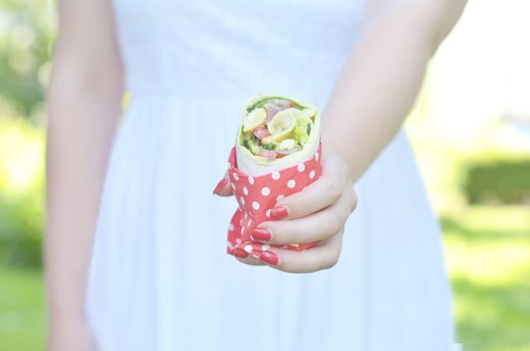 Rezept Shawarma-Wraps (Picknickrezept)