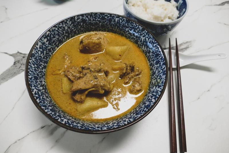 Rezept Singapurisches Hähnchen Curry