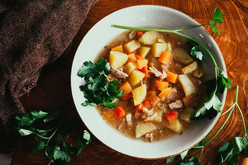 Rezept Slow Cooker Rezept - Eine Suppe für die man fast kein Rezept braucht