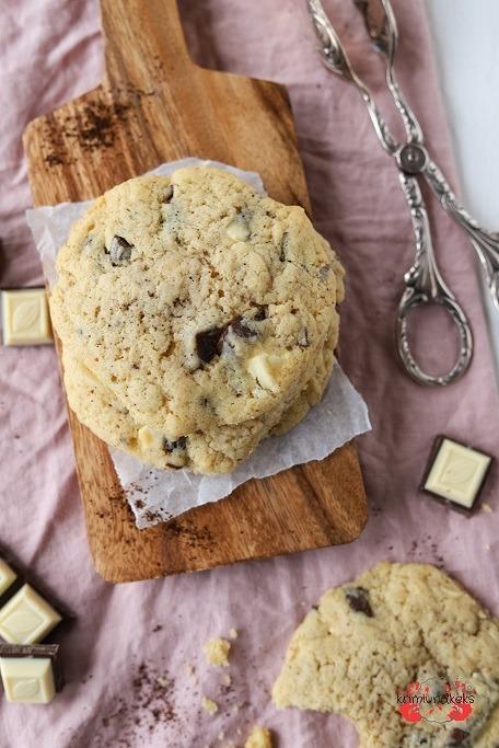 Rezept Softe Schoko-Kaffee-Cookies