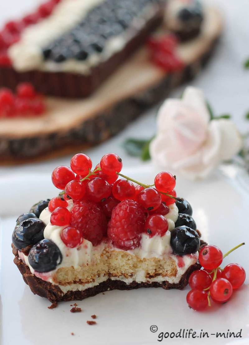 Rezept Sommerbeeren-Tarte mit Vanillecreme