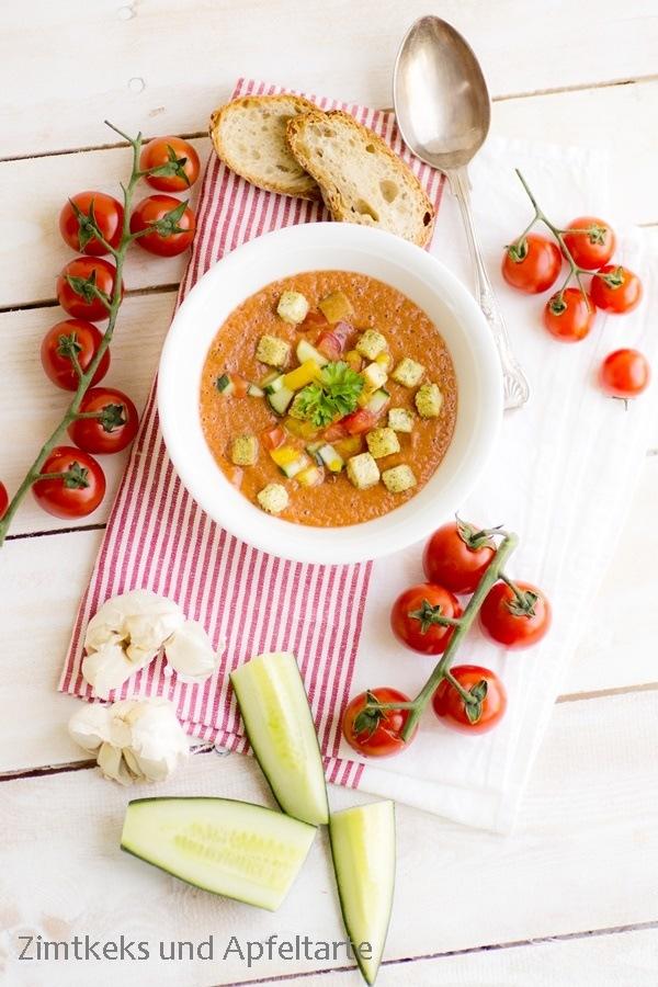 Rezept Sommerlich leichte Gazpacho