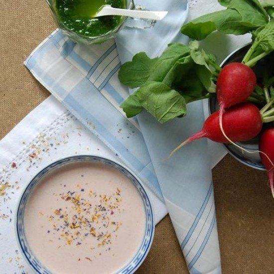 Rezept Sommerliche Radieschensuppe