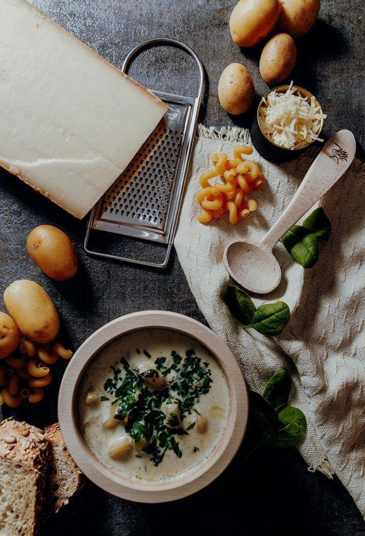 Rezept Soupe de Chalet – Schweizer Hüttensuppe