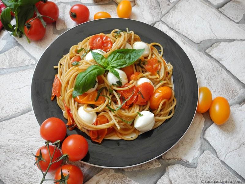 Rezept spaghetti à la caprese