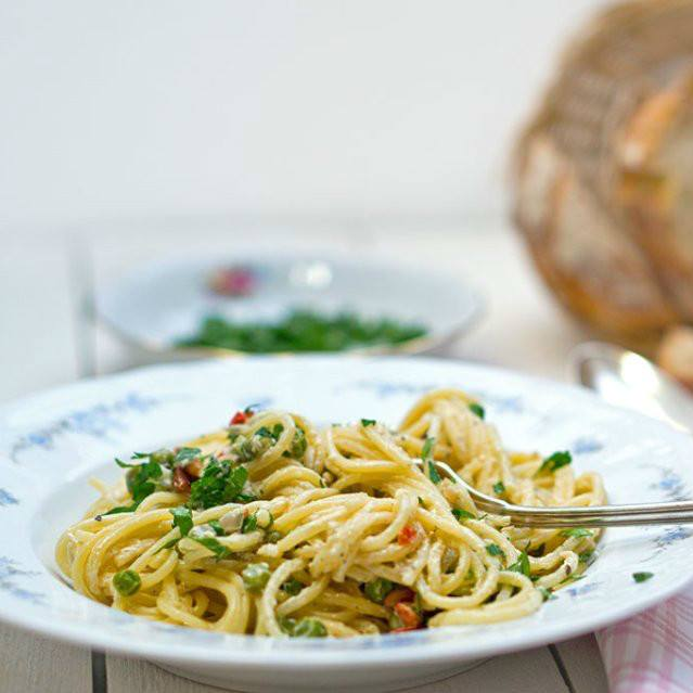 Rezept Spaghetti al Limone