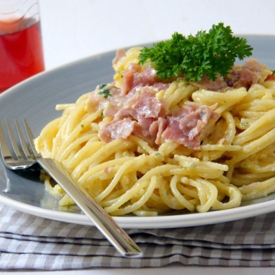 Rezept Spaghetti alla carbonara