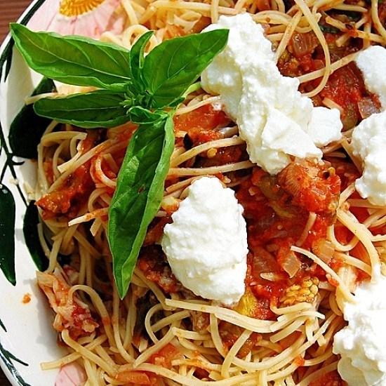 Rezept Spaghetti alla Norma aus Resten