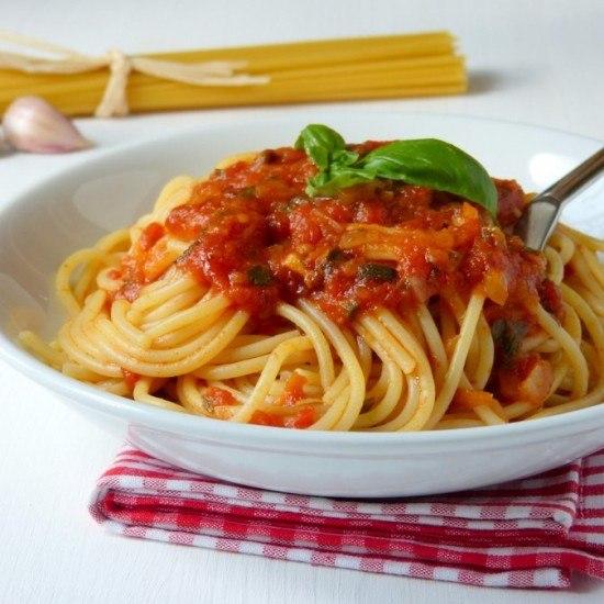 Rezept Spaghetti alla puttanesca