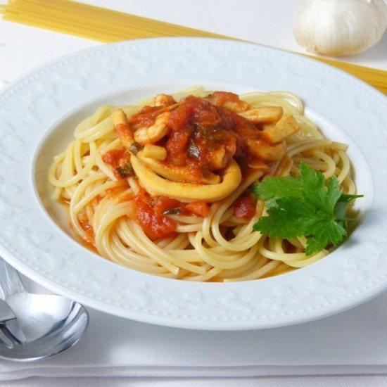 Rezept Spaghetti alle pescatore