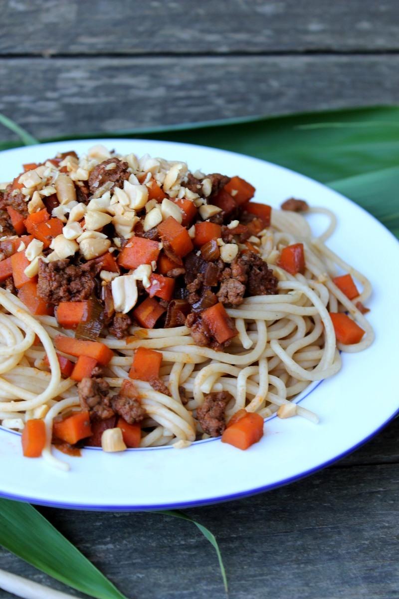 "Rezept Spaghetti Bolognese ""Thai-Style"""
