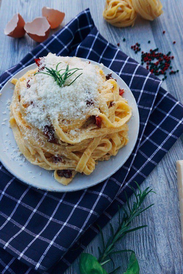 Rezept Spaghetti Carbonara Original Italienisch – Rezept aus Italien