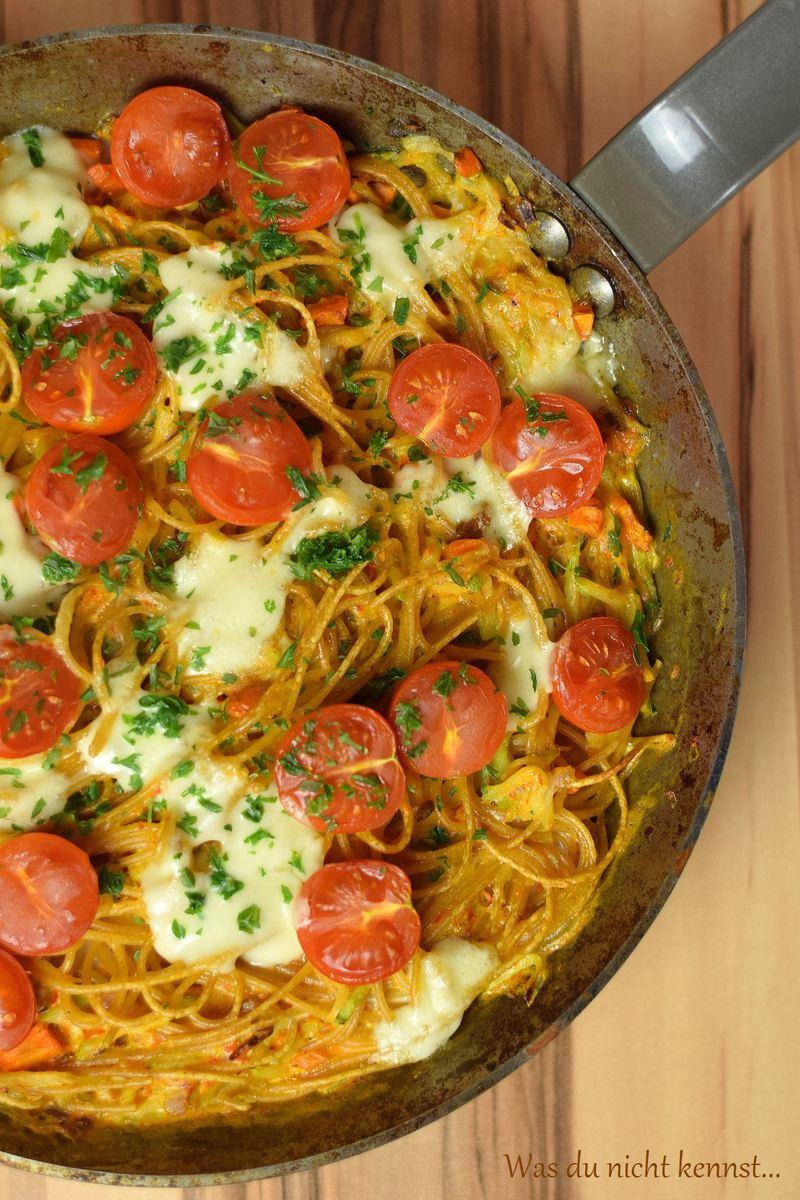 Rezept Spaghetti Frittata