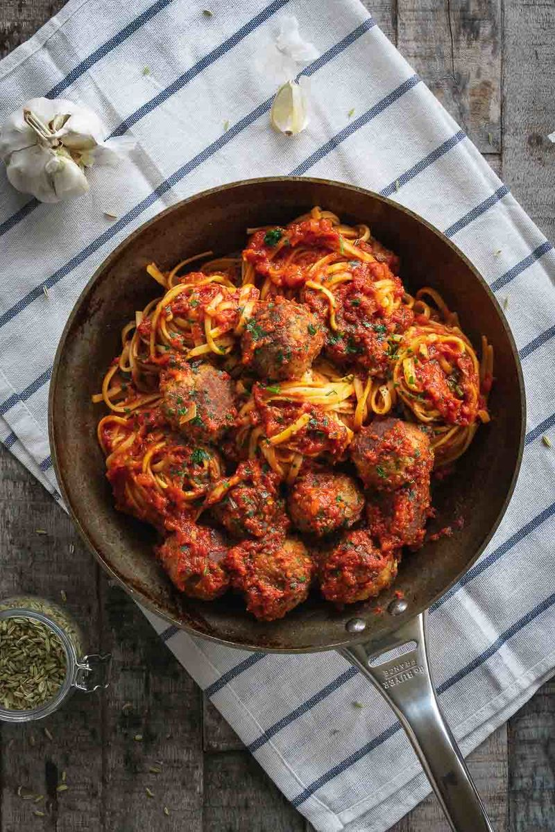 Rezept Spaghetti Meatballs