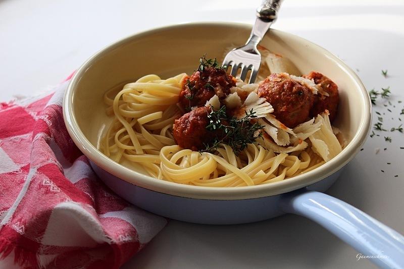 Rezept Spaghetti mit Hackbällchen