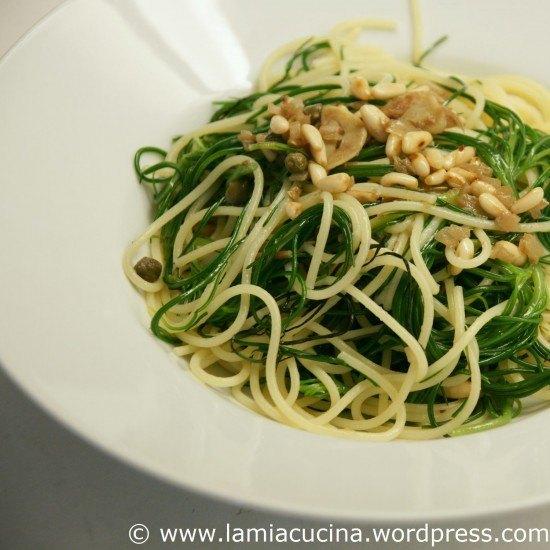 Rezept Spaghetti mit Mönchsbart