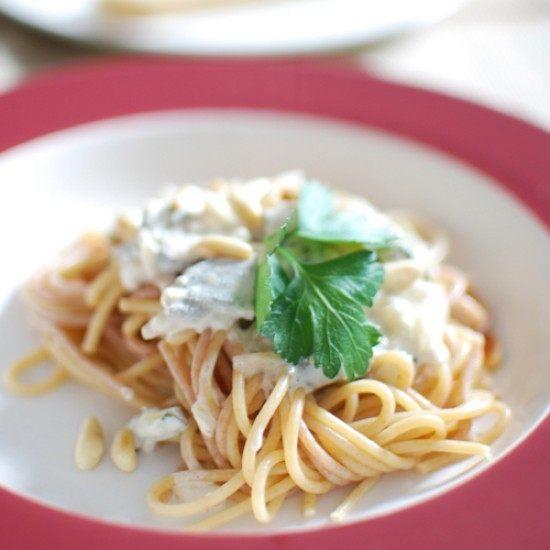 Rezept Spaghetti mit Salbei-Sauce (vegan)