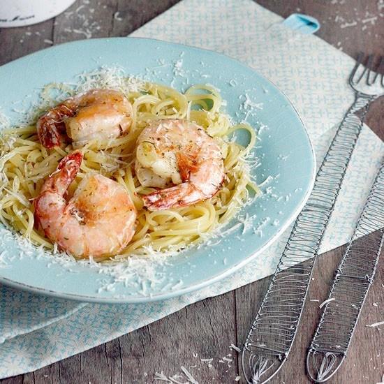 Rezept Spaghetti Scampi