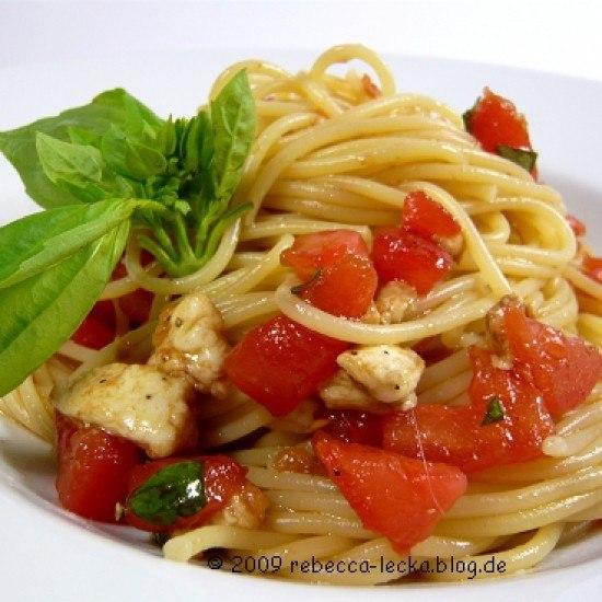 Rezept Spaghetti Tricolore