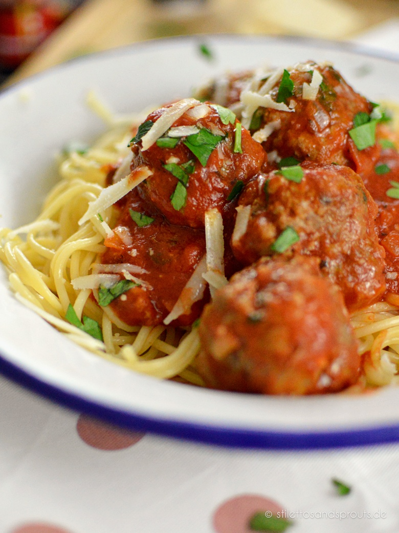 Rezept Spaghetti with Meatballs