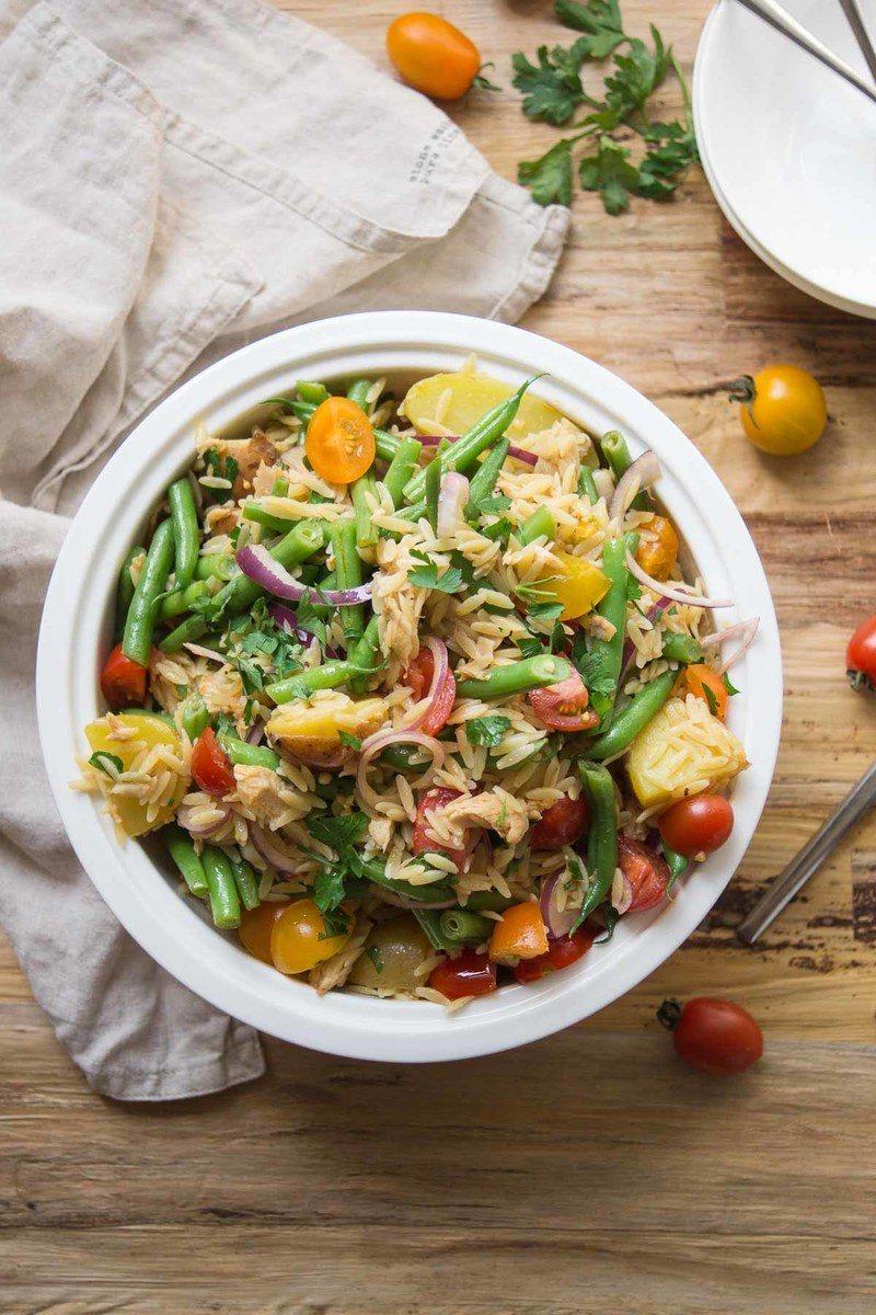 Rezept Spanischer Orzo Nudel-Salat