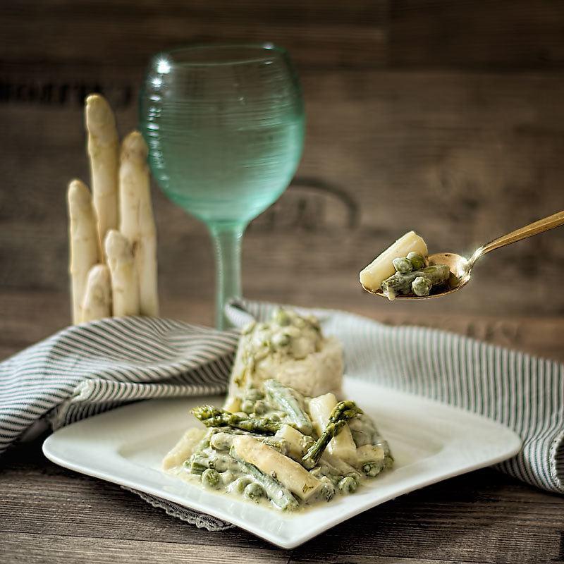 Rezept Spargel mit Kokosmilch – exotisch